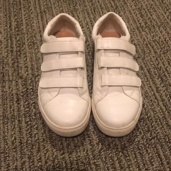 Shoes   Velcro White Sneakers   Poshmark